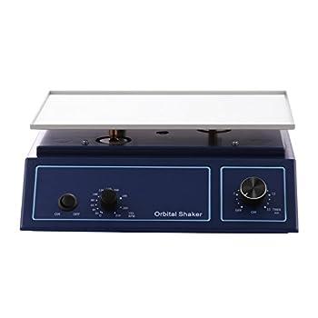 LOVSHARE Adjustable Speed Orbital Shaker Oscillator 22mm Orbit Diameter Lab Orbital Shaker 12.4 x 8.5 Inch Orbital Platform Shaker 0-210 RPM