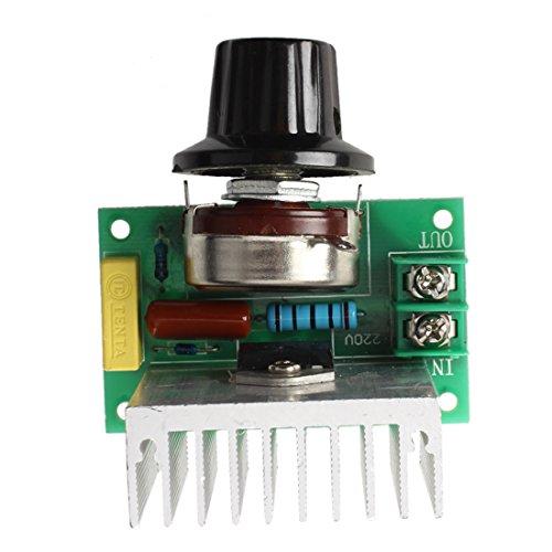 SODIAL 3800W Voltage Regulator Dimming Light Speed Temperature Control