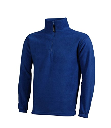 Felpa Half Fleece Pesante In Royal Sportiva zip rq8pr