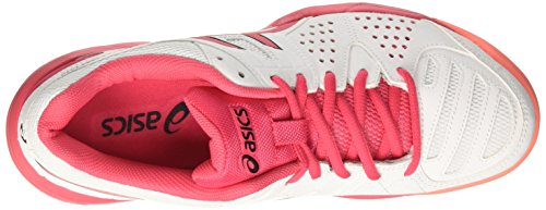 3 SG Rouge Coral Flash Gel para Tenis Red Blanco de Asics White Padel Mujer Zapatillas Pro pItUxF