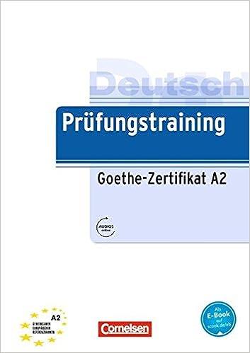 Buy Prufungstraining Daf: Goethe-Zertifikat A2 - Ubungsbuch Mit ...