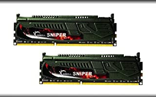 G.SKILL Sniper Series 16GB (2 x 8GB) 240-Pin DDR3 SDRAM DDR3 2400 (PC3 19200) Desktop Memory Model F3-2400C11D-16GSR (B00G3NPBAW) | Amazon price tracker / tracking, Amazon price history charts, Amazon price watches, Amazon price drop alerts