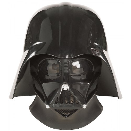 Dark Helmet Costumes (Star Wars Ep3 Darth Vader Collectors Helmet,Black,One Size Costume)