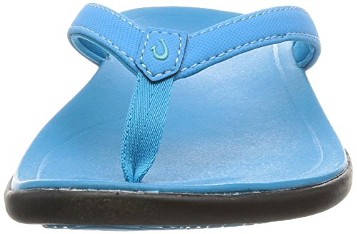 vivid Vivid Blue Brown jave Copper Sandal Olukai Woman Hoopio Blue q7T448