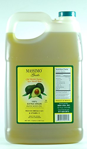 Wholesale Carrier Oils - Massimo Gusto Avocado Oil, 1 Gallon Bulk