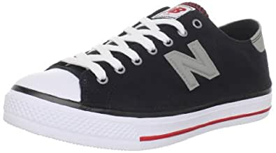 New Balance Women's WCPT Lifestyle Court Fashion Sneaker,Black/Silver,5.5 D US