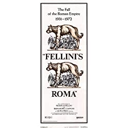Fellini's Roma POSTER Movie (14 x 36 Inches - 36cm x 92cm) (1972) (Insert Style A)