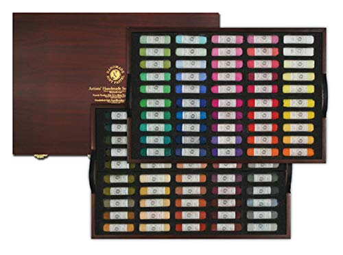 (Mungyo Artists' Handmade Soft Pastels 100 Colors Set )