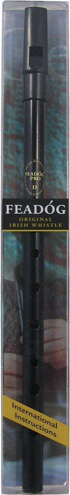 Feadog FW26A Pro Ni - Flauta tin whistle en re, color negro FW23A