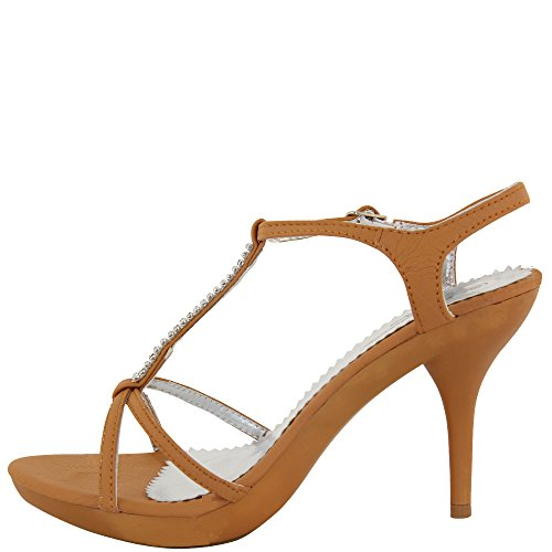 Rasalle Paris - Sandalias de vestir de Material Sintético para mujer - beige camel