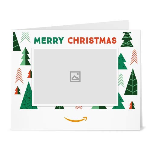 Amazon Gift Card  -  Christmas Tree (Your Upload) (Tell About Yourself Best Answer)