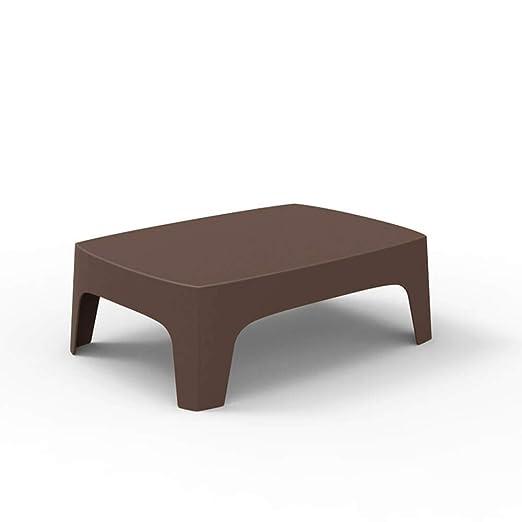 Vondom Solid mesa baja de exterior bronce: Amazon.es: Jardín