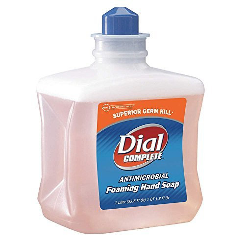 DIAL 1 L Unscented Foam Soap Refill