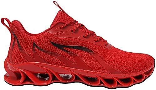 APRILSPRING Mens Walking Shoes Fashion Running Sports Non Slip Sneakers    Product Description