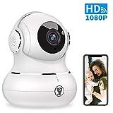 WiFi Home Security Camera, [2nd Generation] Littlelf Smart 1080P Indoor Wireless IP Pet