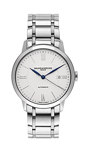 Baume & Mercier Classima Automatic Stainless Steel Mens Watch Calendar MOA10215 ()
