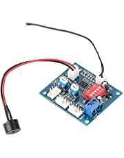 DC 12V PWM Fan Speed Controller Four Wire Computer Thermostat Governor Module Temperature Relay for PC
