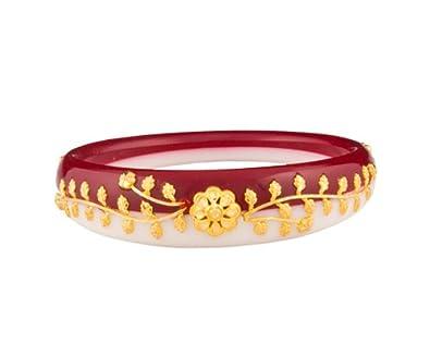 Senco Gold 22KT Yellow Gold Bangle for Women Women's Bangles