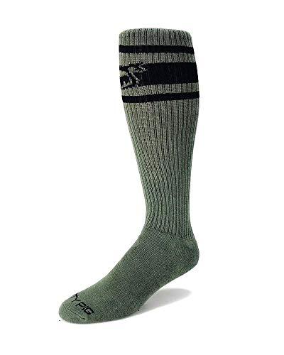 Nasty Pig Hook'd Up Sport Socks (Green)