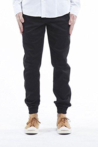 Sprinter Pant (Publish Brand - Mens Sprinter Jogger Pants - Black - Size 38)