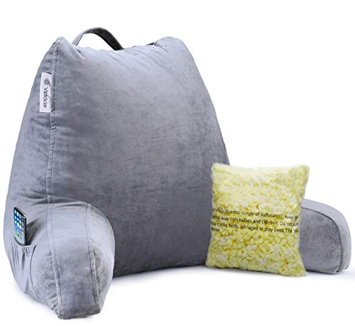 Vekkia Premium Soft Reading & Bed Rest Pillow