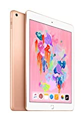 Create, learn, work, and play like never before. An immersive 9. 7-Inch multi-touch Retina Display. A10 FUSION chip with the power and capability you'd expect from a computer. Now supports Apple pencil. 8MP camera. FaceTime HD Camera. Touch I...
