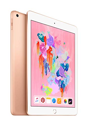 Apple iPad (Wi-Fi, 32GB) - Gold (Latest - Type Touch Learning Computer