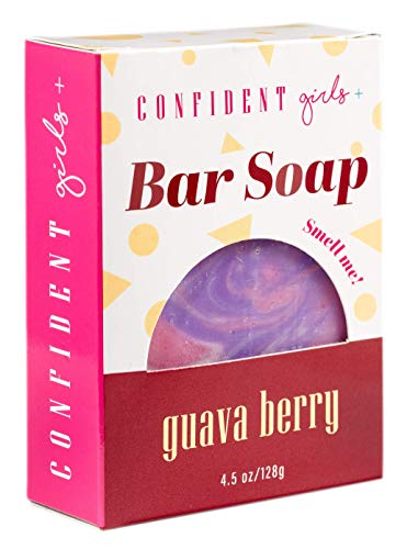 Confident Girls Guava Berry Cocoa and Shea Butter Soap 4.5oz