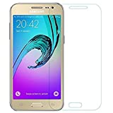 PBC Curved Tempered Glass for Samsung Galaxy J2 2017 (Screen Size - 4.7') | Full Screen Protection | Colour: Transparent
