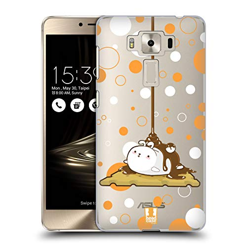 Head Case Designs Smores Chubby Bunny Hard Back Case Compatible for Zenfone 3 Deluxe 5.5 ZS550KL