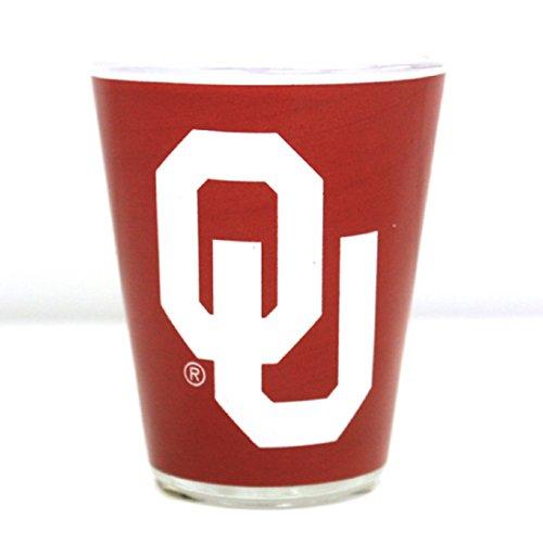 - Jenkins Enterprises Oklahoma Sooners Two Tone Shot Glass