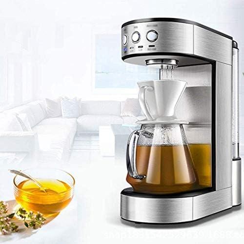 YAeele Mr. Coffee Simple Brew Koffiezetapparaat 15 Beker Koffiezetapparaat | infuus koffiezetapparaat RVS Decoratie met een koffiezetapparaat for thuis en op kantoor (zwart)