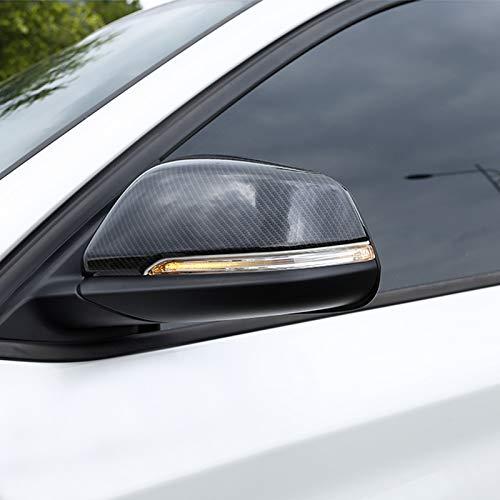 in ABS 2 Pezzi HIGH FLYING Specchietto retrovisore Esterno per X1 F48 2016-2019 // X2 F39 2018 2019
