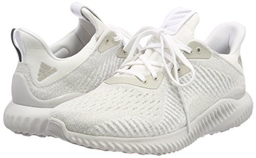 adidas Alphabounce EM Running Shoes - Mens - White/Silver Metallic/Off White - UK Shoe Size 9 clearance Manchester recommend cheap price discount largest supplier clearance 2015 SF5509zxc