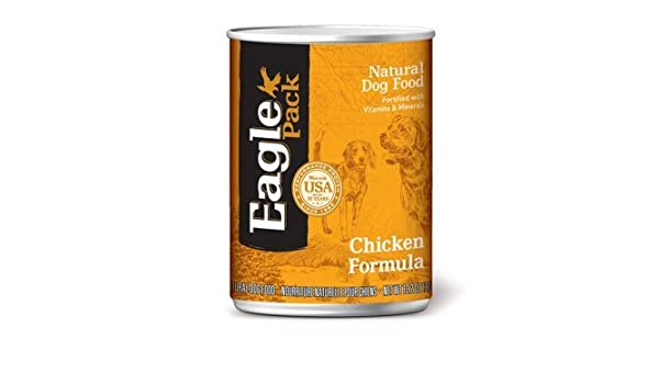 Eagle Pack Chicken Formula Can Dog Food 12 Pack by Eagle Pack: Pet Supplies: Amazon.com