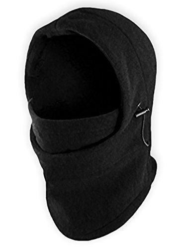 Balaclava Fleece Hood & Windproof Ski Mask - Heavyweight Extreme Cold Weather Face Mask - Motorcycle, Ski & Snowboard Winter Gear for Men & Women - Ultimate Protection from the Elements