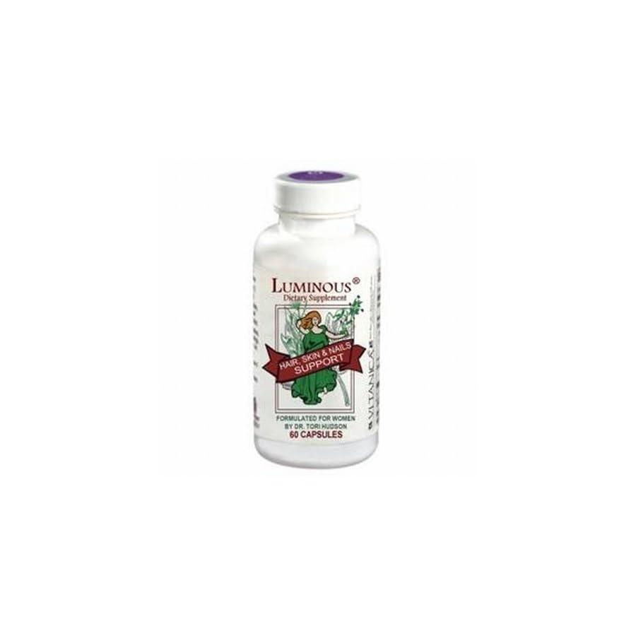 Vitanica Luminous Hair Skin & Nails Support 60 Vegetarian Capsules