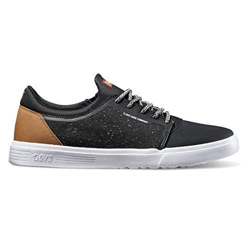 DVS Skateboard Shoes Stratos LT Black/Brown Knit Size 12