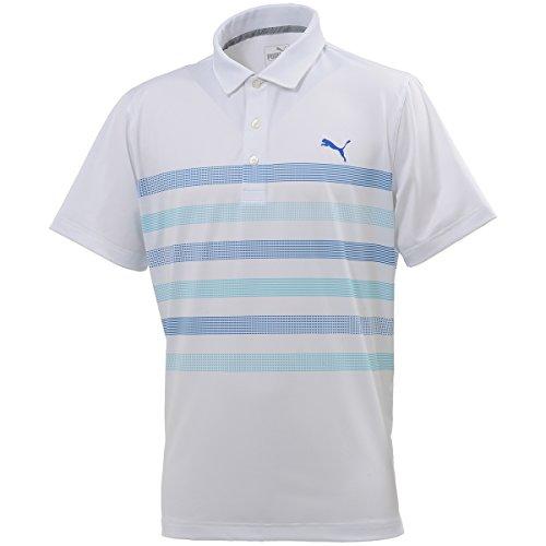 プーマ PUMA 半袖シャツ?ポロシャツ センターストライプ半袖ポロシャツ 574827