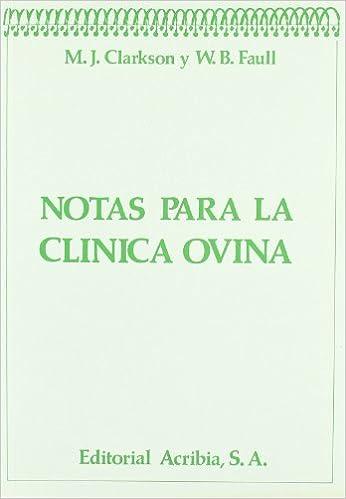 Descarga gratuita de libros electrónicos en pdf. Notas para clínica ovina CHM