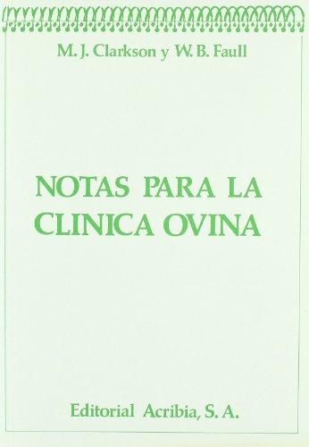 Descargar Libro Notas Para Clínica Ovina M. J. Clarkson