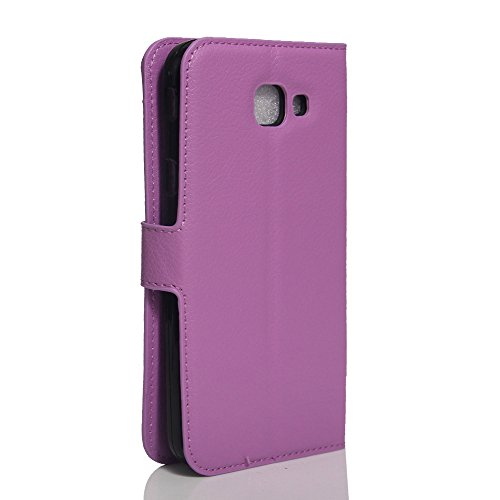 Funda Samsung Galaxy A8(2016),Manyip Caja del teléfono del cuero,Protector de Pantalla de Slim Case Estilo Billetera con Ranuras para Tarjetas, Soporte Plegable, Cierre Magnético(JFC8-1) I