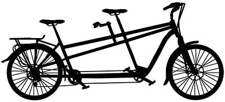 DLYD Etiqueta de la Pared de la Bicicleta en tándem Deportes ...