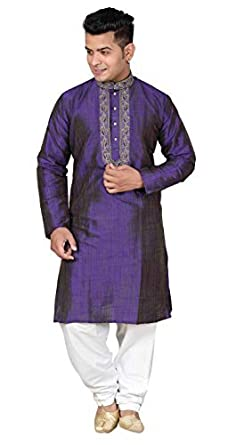ff9f15725 Desi Sarees Men's Sherwani Kurta Shalwar Kameez For Bollywood Theme Party  Outfit 833 36 (S