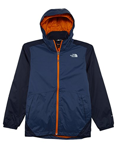 The North Face Boys' Stormy Rain Triclimate Jacket Shady Blue L by The North Face