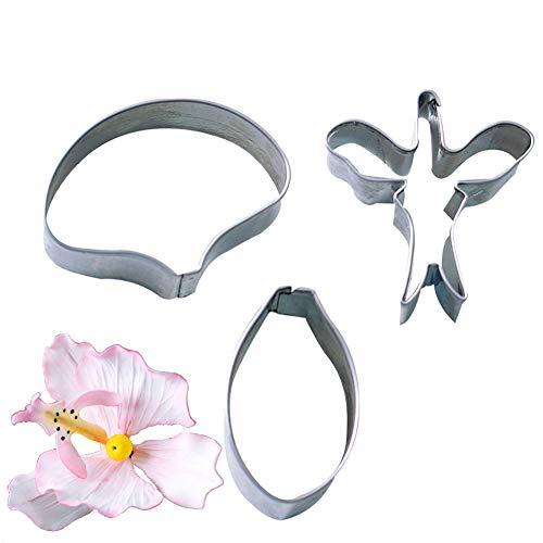 (3pcs/set Butterfly Orchid Sugar Flower Cutter Set Fondant Cake Sugarcraft Decorating Tools)
