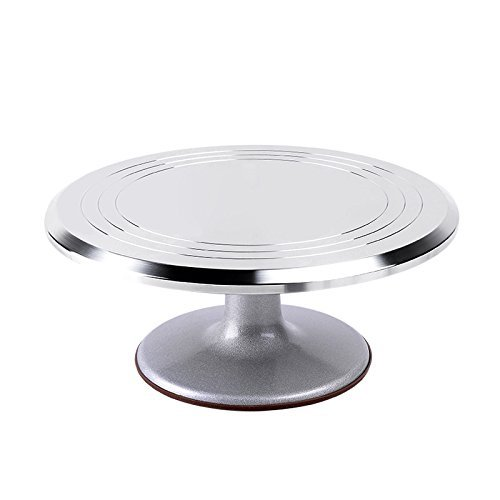 Ohuhu Aluminium Turntable Revolving Decorating