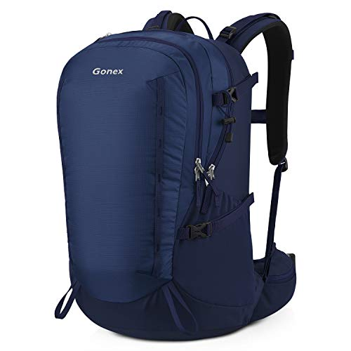 Gonex 40L Hiking Backpack, Outdoor Travel Backpack with Rain Cover for Climbing, Camping, Travelling