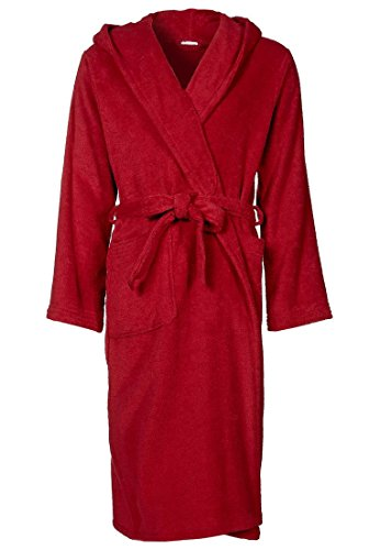 ab2652dbfe Velour Terry Hooded Robe