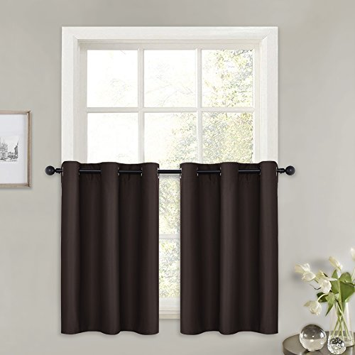 PONY DANCE Blackout Curtain Panels - Thermal Tier Grommet To